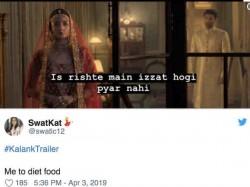 Kalank Trailer Inspired Memes On The Internet Viral Jokes On Varun Aditya And Alia