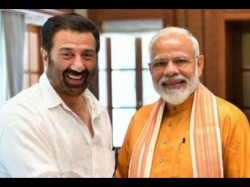 Pm Narendra Modi Tweets Photo With Sunny Deol Captions A Gadar Dialogue