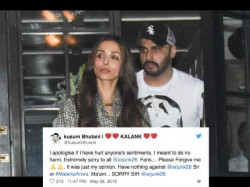 Varun Dhawan Fan Trolls Arjun Kapoor For Hating Sridevi And Dating Malaika Arjun Replies