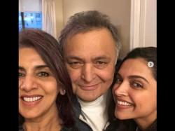 Deepika Padukone Met Rishi Kapoor In New York