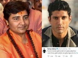Farhan Akhtar Get Troll After He Appealed To Not Vote For Sadhvi Pragya