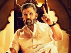 First Look Suniel Shetty First Look From Pailwan