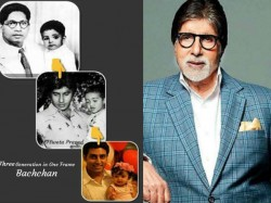 Amitabh Bachchan Shared A Photo Where We Can See Three Generation Of Bachchan Family