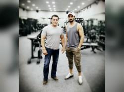 Dabangg 3 Sudeep Shared A Workout Picture With Salman Khan