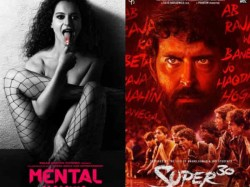 Hrithik Roshan S Super 30 To Clash With Kangana Ranaut Rajkummar Rao S Mental Hai Kya