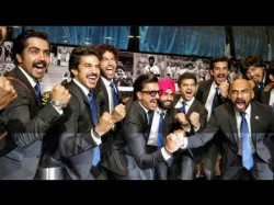 Ranveer Singh And His World Cup Squad Pose Officially For