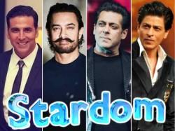 Salman Khan Believes Only Him Shahrukh Khan Aamir Khan And Akshay Kumar Are Superstars