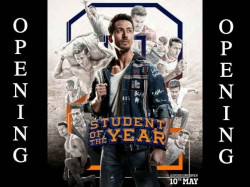 Student Of The Year 2 Box Office Opening Day 1 Occupancy Report