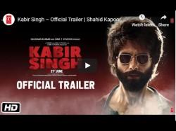 Kabir Singh Trailer Shahid Kapoor S Kabir Singh Trailer Release