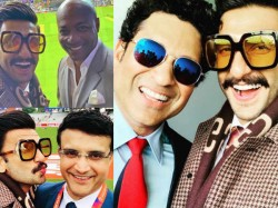 Ranveer Singh S Pictures With Legend Cricketers Gone Viral