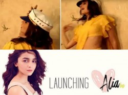 Alia Bhatt Launched Her First Youtube Channel