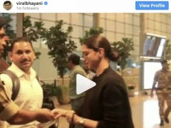 Deepika Padukone Asked For Her Id Proof At Airport Security Check Video Goes Viral