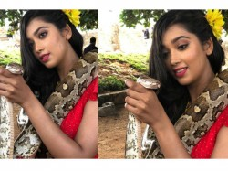Bigg Boss Ex Contestant Digangana Suryavanshi Python Choked