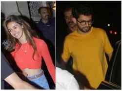 Disha Patani Dines With Aditya Thackeray Fans Troll Tiger Shroff
