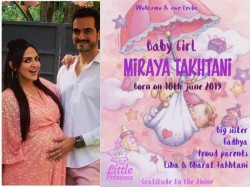 Esha Deol And Bharat Takhtani Welcome A Baby Girl Decide Her Name And Announced It