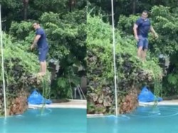 Salman Khan Does A Backflip Dive To A Swimming Pool Video Goes Viral
