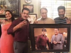 Salman Khan Introduces Chulbul Pandey S New Father Late Actor Vinod Khanna S Replacement