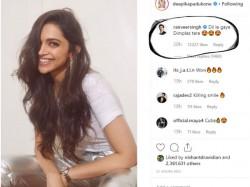 Ranveer Singh Goes Gaga Over Deepika Padukone Smile See Pics