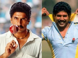 Ranveer Singh First Look From As Kapil Dev From The Movie