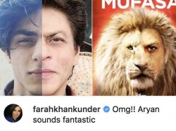 Bollywood Celebs React To Aryan Khan S Voice Debut As Simba In The Lion King