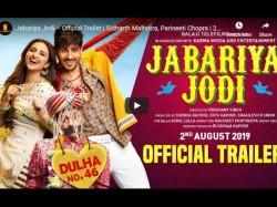 Trailer Sidharth Malohotra And Parineeti Chopra S Jabariya Jodi Trailer Release