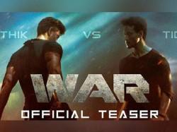 War Teaser Tiger Shroff And Hrithik Roshan Starrer Film Teaser Out