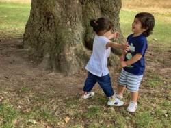 Taimur Ali Khan And Inaya Kemmu Enjoy A Play Date In A Park