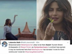 Priyanka Chopra Thrashed On Twitter For Nnot Helping Assam Fans Laud Akshay Kumar And Hima Das