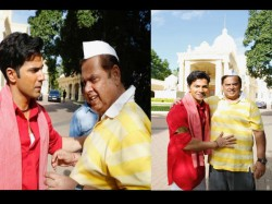 Varun Dhawan Wishes To David Dhawan On His Birthday Pics From Coolie No 1 Set