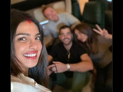 Priyanka Chopra And Nick Jonas First Karwa Chauth Pics Gone Viral