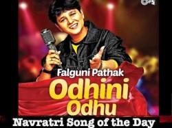 Navratri Song Of The Day Odhni Falguni Pathak Bollywood Garba Dandiya Songs For Navratri