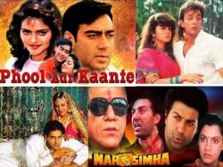 Top 10 Bollywood Grossers Of 1991 Salman Khan Saajan To Ajay Devgn Phool Aur Kaante