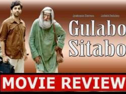 Gulabo Sitabo Film Review Amazon Prime Ayushmann Khurrana Amitabh Bachchan