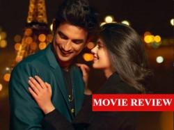 Dil Bechara Movie Review Sushant Singh Rajput Sanjana Sanghi Disney Hotstar