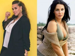 Bollywood Top Cool Mother Neha Dhupia Celebrating Her 40th Birthday Watch Super Hot Photos