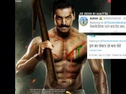 John Abraham Get Troll As He Shared Satyameva Jayate 2 Poster