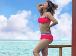 Hina Khan Bold And Sexy Bikini Picture Goes Viral From The Maldives