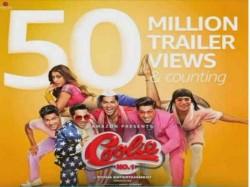 Varun Dhawan Sara Ali Khan Coolie No 1 Trailer Crosses 50 Million Views