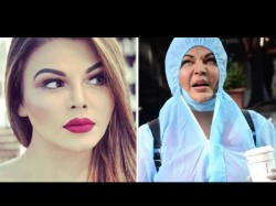 Rakhi Sawant Video Says She Will Not Contract With Covid 19 I Have Jesus Holy Blood