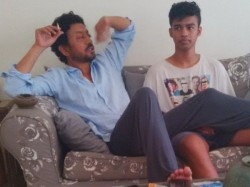 Irrfan Khan S Son Babil Khan Shares Emotional Post And Photos Says I Ve Been Working So Hard Man