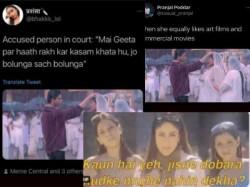 Shahrukh Khan Kajol S Emotional Death Scene From K3g Turns Hilarious Meme Fest On Twitter