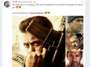 #TigerZindaHai : ''सलमान खान का First LOOK ही ब्लॉकबस्टर है.. शानदार..''