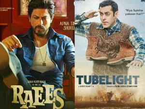 #Opening.. किसी तरह शाहरूख की 'रईस' से.. आगे बढ़े 'ट्यूबलाइट' सलमान!