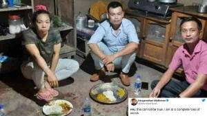 टोक्यो ओलंपिक्स विजेता मीराबाई चानू की तस्वीर देख चौंक गए आर माधवन, ज़मीन पर खा रही हैं खाना