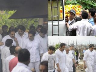कृष्णा के पिता का हुआ अंतिम संस्कार..गोविंदा के साथ कई स्टार्स पहुंचे
