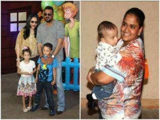 संजय दत्त और 'बच्चा पार्टी' का धमाल..सबसे छोटे 'खान' भी हुए शामिल!