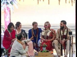 #WeddingPics: मिस्टर और मिसेज़ युवराज सिंह ने की दोबारा शादी...गोआ में