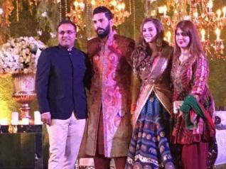 #Pics: युवराज सिंह - हेज़ल कीच की शादी का रिसेप्शन....जमकर हुई मस्ती