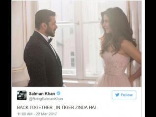 सलमान खान- कैटरीना की रोमांटिक तस्वीर.. फैंस हुए CRAZY.. क्या क्या कह डाला!