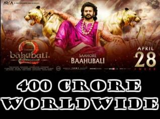 बॉक्स ऑफिस #Worldwide: बाहुबली 2 की कुल कमाई विश्व में 400 करोड़ को छू गई!
